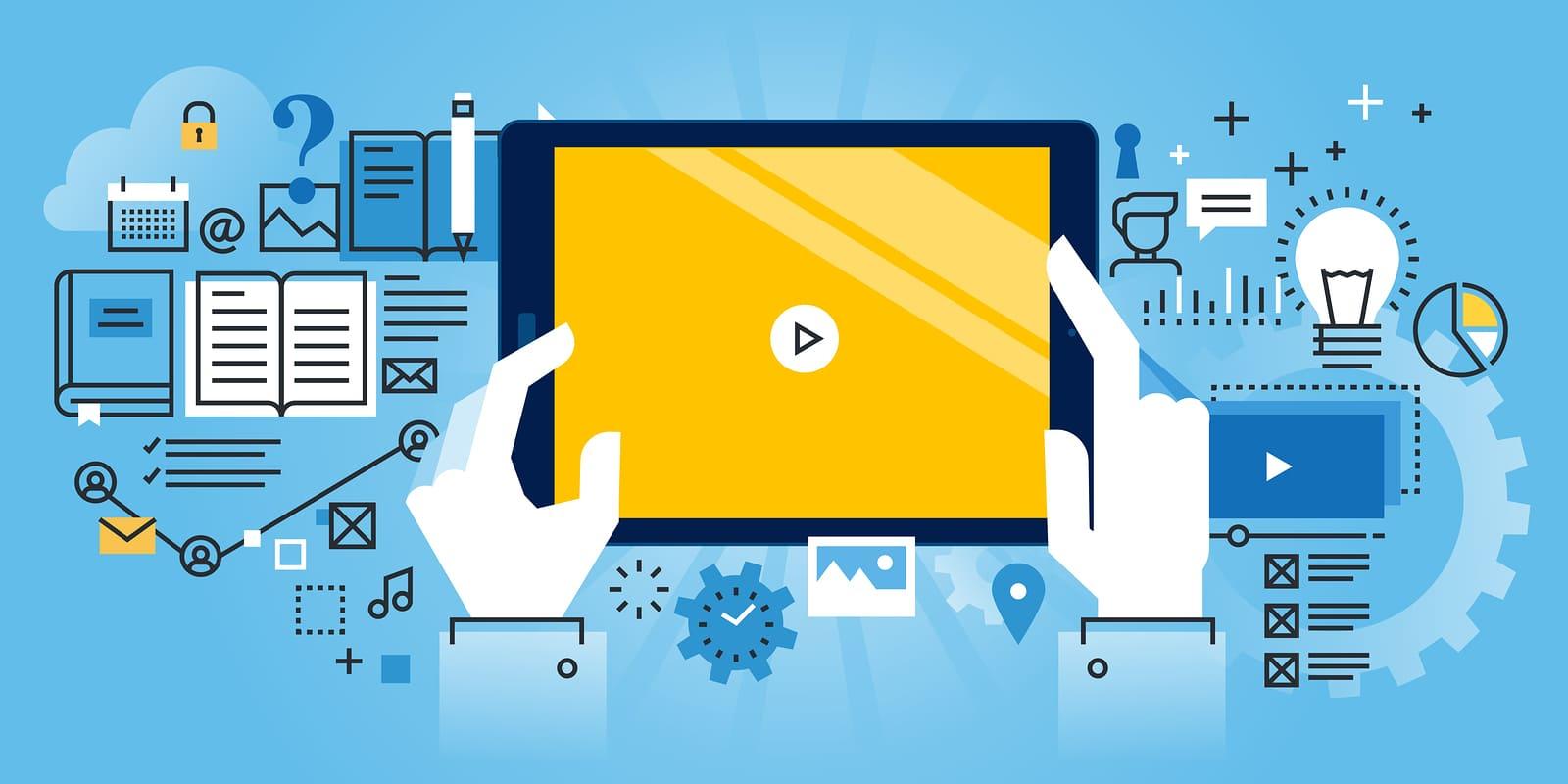 فیلم های آموزشی در ویدئو مارکتینگ